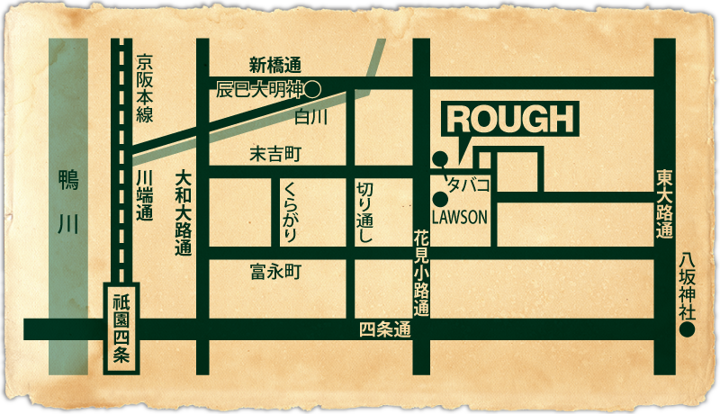 ROUGH MAP